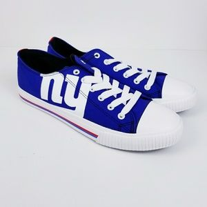 NY Giants NFL canvas sneakers